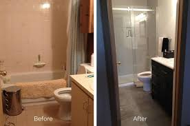 Before And After Bathrooms A Look At Our Bathroom Makeover Simply Lise