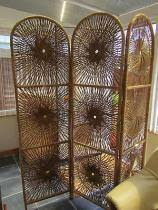 Wicker Room Divider Vintage Wicker Room Screen Divider Courier Services Get Quotes