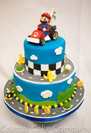 mario birthday cake mario kart themed birthday cake cakecentral