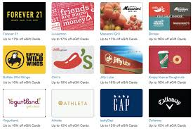 restaurants that offer e gift cards retailmenot get discount egift cards to stretch your online