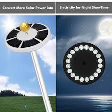 Annin Solar Flagpole Light Oxyled Solar Flag Pole Flagpole Light Led Downlight Night Lighting