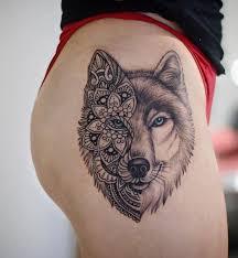 Female Thigh Tattoo Ideas The 25 Best Mandala Thigh Tattoo Ideas On Pinterest Mandala