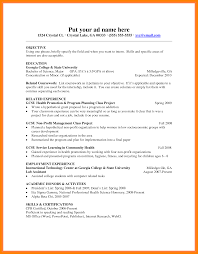 Related Experience Resume Sample Resume For Teachers Freshers Resume For Your Job Application