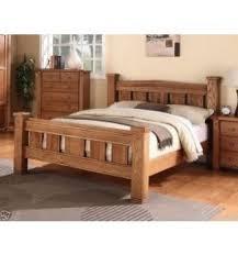 michidean 6 u0027 super king size solid natural oak bed frame u2013 sc