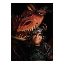 train dragon snotlout u0026 hookfang print