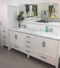 bathroom vanity with side cabinet palmera 90 double sink bathroom white vanity side cabinet tower