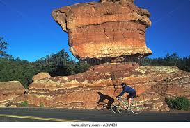 balanced rock in garden gods stock photos u0026 balanced rock in