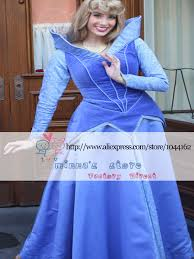 custom made deluxe sleeping beauty princess aurora blue gown