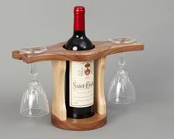 wine bottle u0026 glass holder beveledge