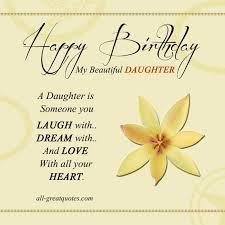 birthday card happy birthday daughter cards free print words to