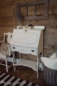 brass key secretary desk sold white shabby chic painted secretary desk off white