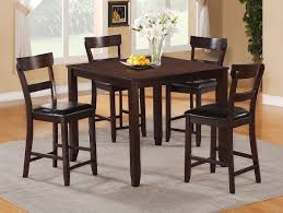 dining room bar height dining table with chairs counter height