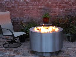 Fire Pit With Glass by Stainless Steel Fire Pit Gas Fire Pit Hidden Tank Fire Pit