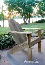 Wooden Outdoor Furniture Plans Free by 15 Free Adirondack Chair Plans To Build At Home