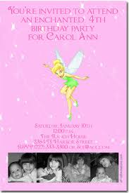 tinkerbell birthday invitations candy wrappers thank you cards