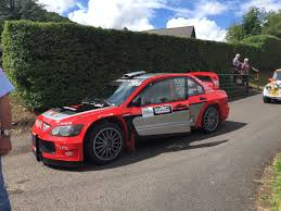 mitsubishi rally car tristan bailey tristanbailey46 twitter