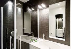black and white bathroom border tiles white stained wooden wall