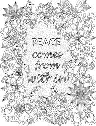 inspirational coloring pages for adults fablesfromthefriends com
