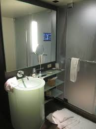 Hotel Bathroom Mirrors by Bath Mirror W Tv Picture Of Mgm Grand Hotel And Casino Las