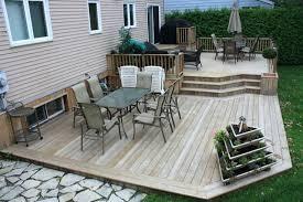 Patio Deck Ideas Backyard Backyard Ground Ideas Design Of Backyard Deck Ideas Ground Level