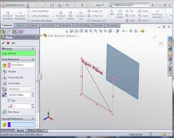 st technica solidworks using derived sketch