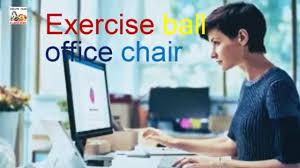 exercise ball office chair isokinetics inc adjustable back