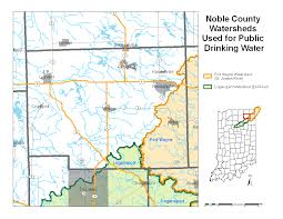 St Joseph River Map Noble County Watershed Map