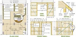 shed plans guide free step by step shed plans