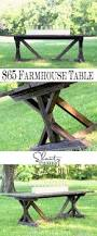 Farmhouse Patio Furniture Diy Dining Table For Only 65 Shanty 2 Chic