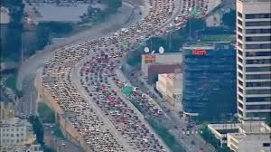 la traffic this evening thanksgiving 2016