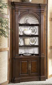 Country Kitchen Corner Cabinet Corner Hutch Cabinet White Color 2