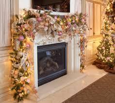 christmas fireplace decorating ideas artofdomaining com
