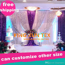 wedding backdrop prices cheap price white color wedding backdrop drape and senquin swag with