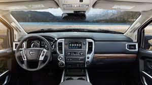 2017 nissan armada cloth interior 2017 nissan titan key features nissan usa