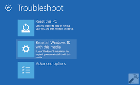 install windows 10 without bootc how to reinstall windows 10 without affecting personal files