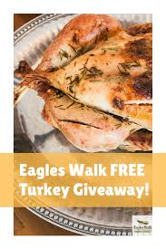 eagles walk free turkey giveaway hirschfeld homes