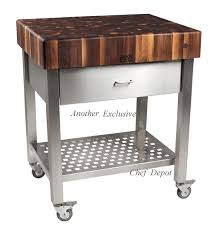kitchen island cart with stainless steel top stainless steel kitchen island cart and decor with regard to awesome