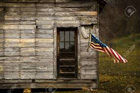 American Flag Wall Hanging American Flag Hanging From An Old Barn With Negative Space To