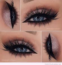 maquillage mariage yeux bleu tendance maquillage yeux 2017 2018 glitter eye makeup
