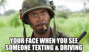 Texting And Driving Meme - meme creator when you see someone texting driving meme