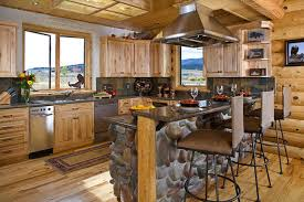 log home kitchen ideas and peaceful log home kitchen design log home kitchen