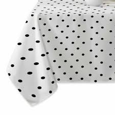 Black And White Table Cloth Buy Black Tablecloth From Bed Bath U0026 Beyond