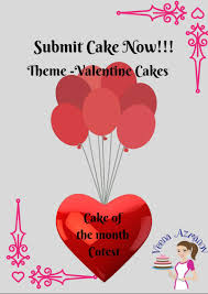 cake of the month contest valentine cakes submit cake now