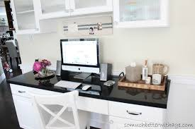 Kitchen Desk Furniture Add An Office To Your Kitchen So Much Better With Age