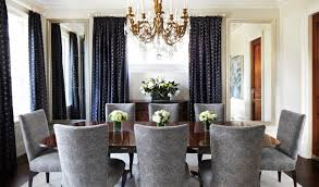 Curtains For Dining Room Ideas Blue Dining Room Curtain Ideas Solid Color Dining Room