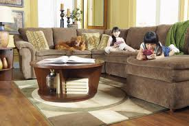 4 piece sectional sofa with ras chaise and full sleeper by la z