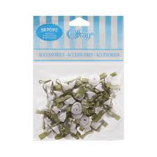 offray accessories find the offray accessories small roses value pack white at