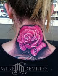 black and pink rose tattoo tattoo collection