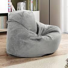 grey bean bag chairs you u0027ll love wayfair