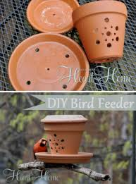 Flower Pot Bird Bath - flower pot bird feeder green zone pinterest bird feeder
